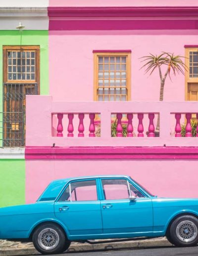Colourful sights in Cape Town, South Africa