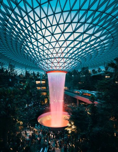Can you believe this is an airport? Jewel Changi Airport, Singapore