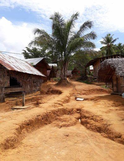 A small village in Suriname