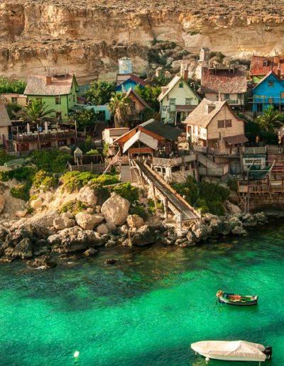 Popeye Village, Mellieha, Malta