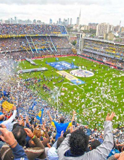 Watch the Boca Juniors play — © Rubra DMC
