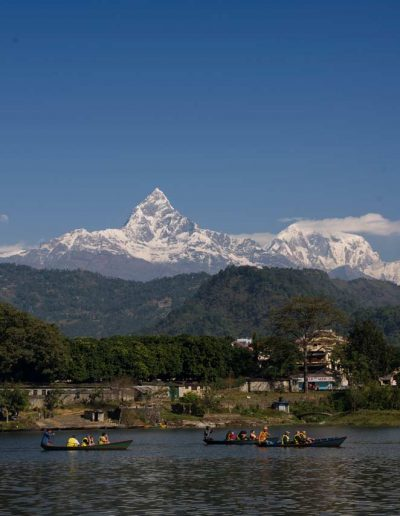 Pokhara Lake — Nepal, Hi Tours